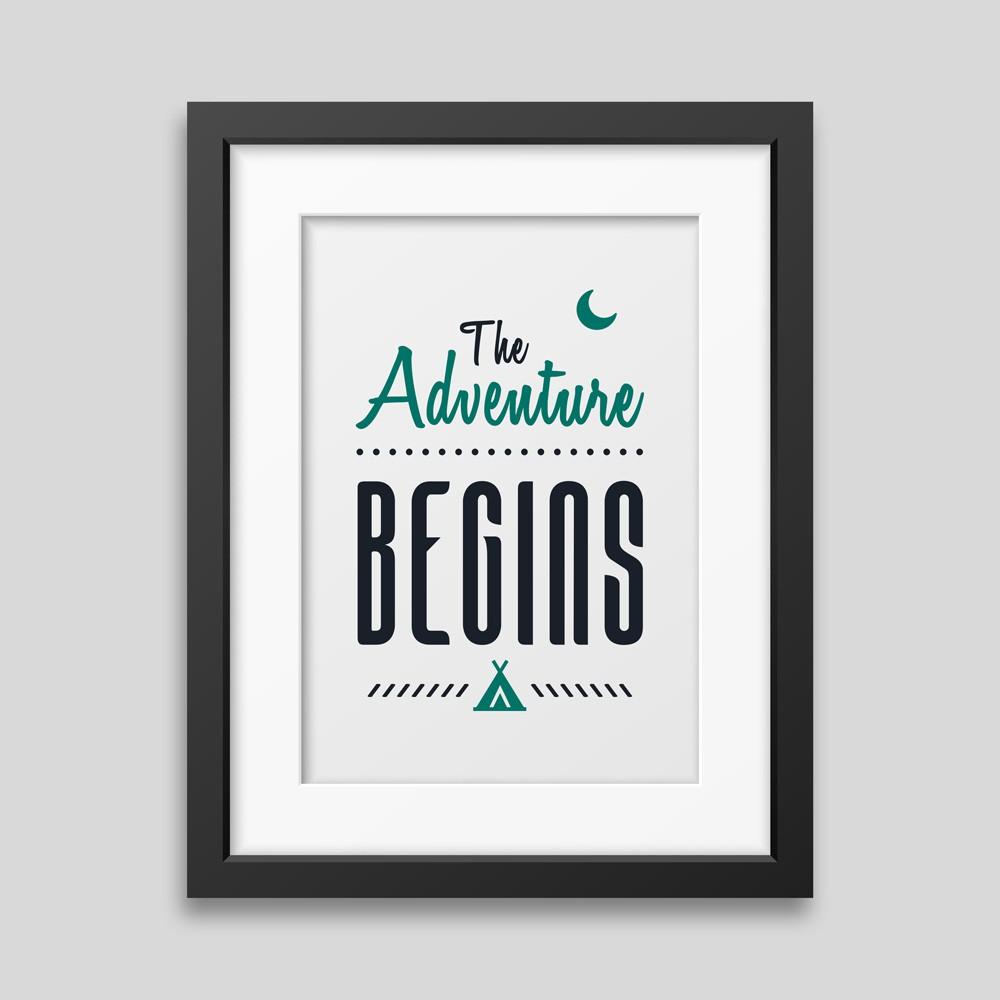 the-adventure-begins-framed-poster